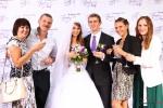Пресс волл на свадьбе