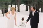 Идеи для свадебной фотосъемки зимой
