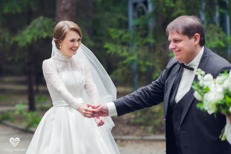 Садовая свадьба в мае