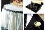 Горошек в свадебном оформлении