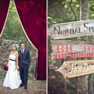 Стиль свадьбы - море, цирк и прованс