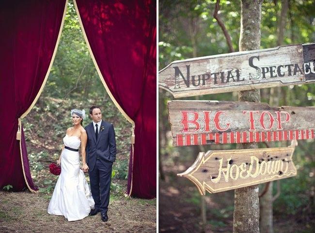 Labyrinth style wedding